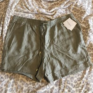 Ellen Tracy NWT linen shorts